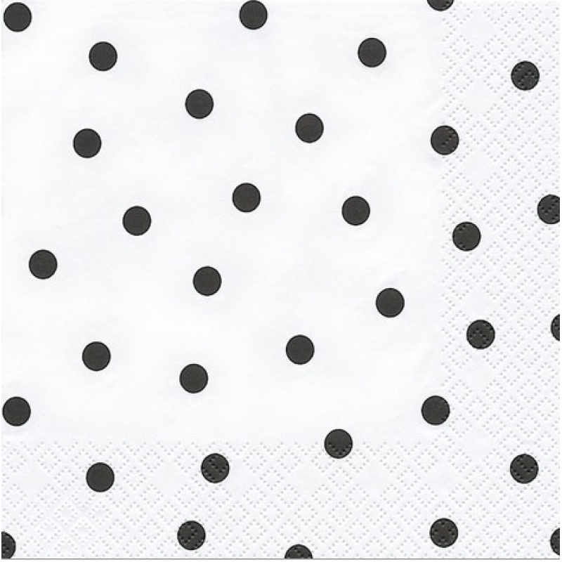 modern dots schwarze punkte 33 x 33 cm 3 25 allerlei. Black Bedroom Furniture Sets. Home Design Ideas