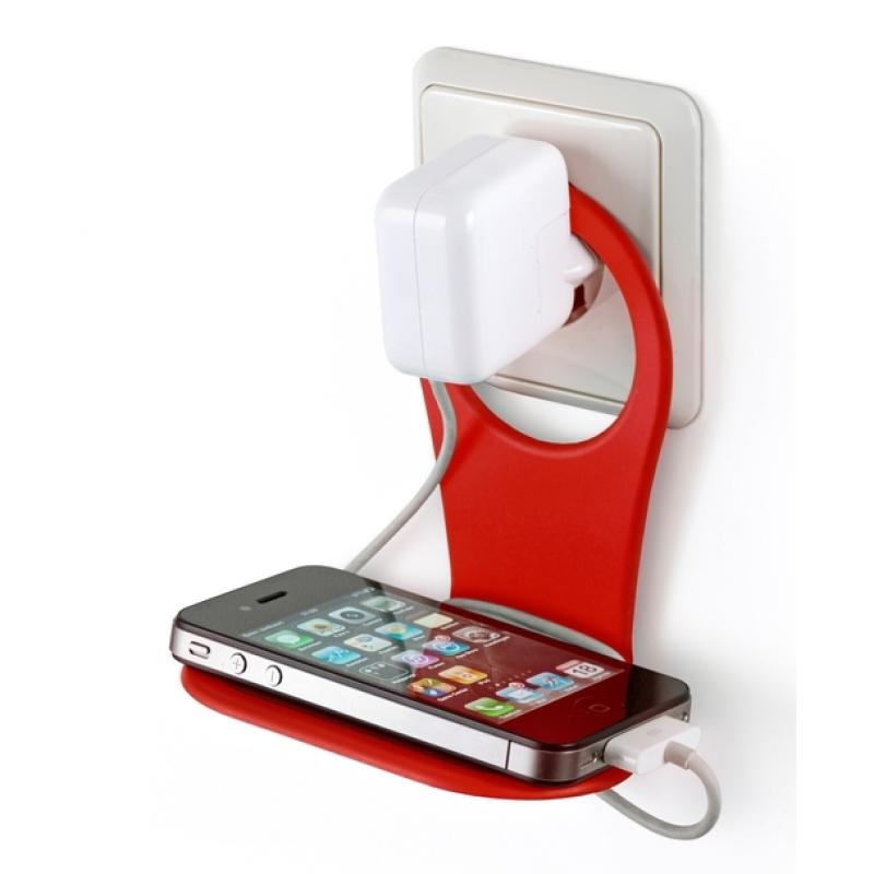 phone holder smartphone handy telefon halter f r steckdose. Black Bedroom Furniture Sets. Home Design Ideas