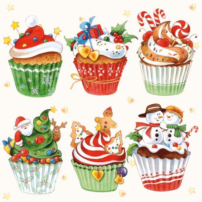 weihnachts christmas cupcakes 3 65 allerlei und mehr. Black Bedroom Furniture Sets. Home Design Ideas