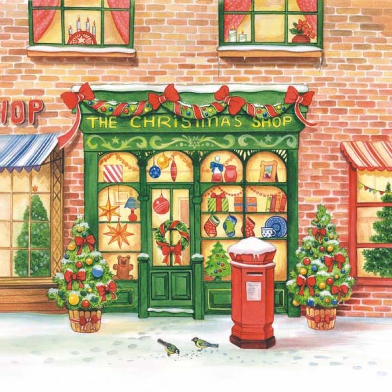 Weihnachts Einkauf The Christmas Shop, 3,65 € - Allerlei und me