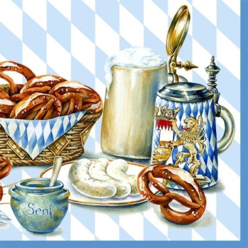 Bayrische brotzeit 2 60 allerlei und mehr for Bayrische dekoration