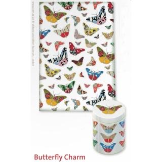 3 tlg schmetterling butterfly charm k chenhandtuch passende. Black Bedroom Furniture Sets. Home Design Ideas