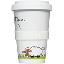 Coffee to go Becher Mug Moin Schaf