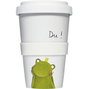 Coffee to go Becher Mug Du Frosch