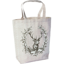 Leinen Tasche Country Deer
