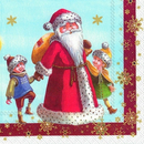 Santa with Kids  Villeroy & Boch Servietten