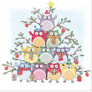 Tree of Owls  Eulen Baum 33 x 33 cm