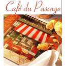 Café du Passage Handled Tablett small