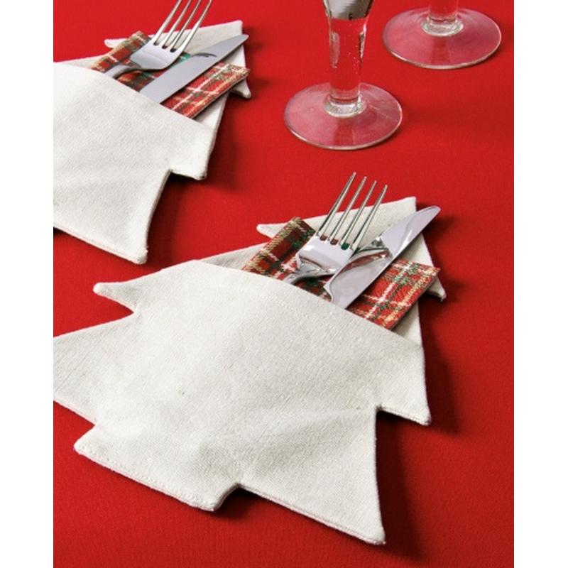 2 tlg textil servietten oder bestecktasche design. Black Bedroom Furniture Sets. Home Design Ideas