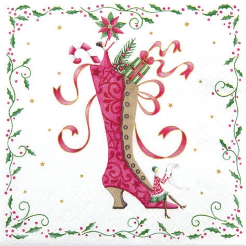 Weihnachtseinkauf Tiffany Mrs Santa´s Boot 33er , 3,40 €