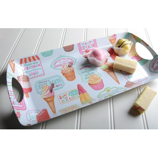 Retro Treats Handled Tablett small