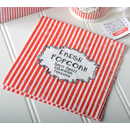 Retro Treats Popcorn  Napkins  33 x 33 cm