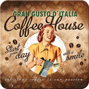 Coffee House Lady 1 tlg.  Untersetzer