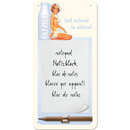 Pin up Milk Notizblock-Schild