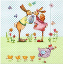 Bunnies in Love Ostern 33er