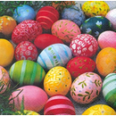 Colourful Eggs  Ostern 33er