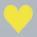 Yellow Heart 33er oder 25er
